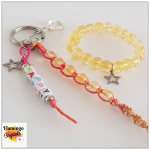 HAPPINESS BRACELET & DANGLER SET - KIDS