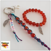 Load image into Gallery viewer, BRAVE BRACELET & DANGLER SET - KIDS