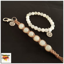 Load image into Gallery viewer, CANCER BRACELET & DANGLER SET