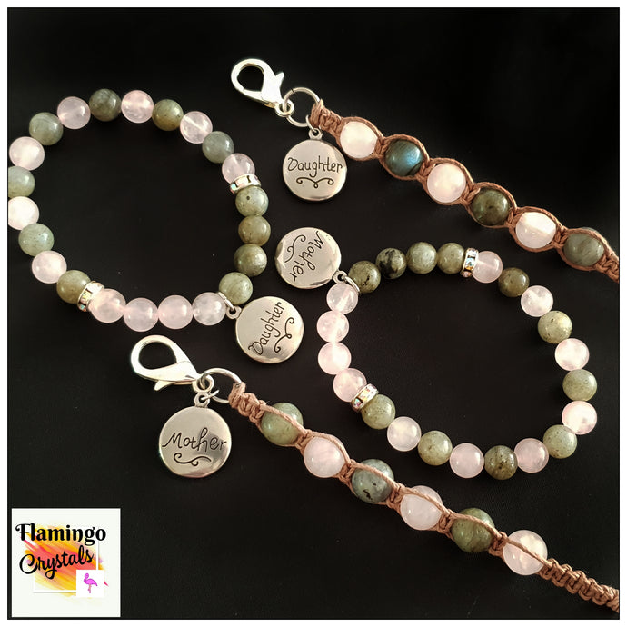 MOTHER & DAUGHTER BRACELET & DANGLER SET