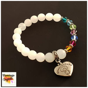 GRANDMOTHER BIRTHSTONE BRACELET