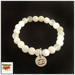 CANCER BRACELET & DANGLER SET