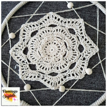 Load image into Gallery viewer, MACRAME DREAMCATCHER WALL ART