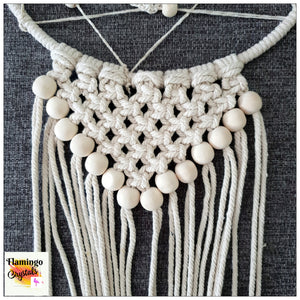 MACRAME DREAMCATCHER WALL ART