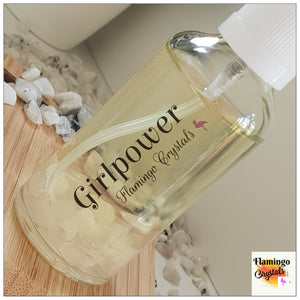 CRYSTAL INFUSED AROMATHERAPY MIST - 'GIRLPOWER'
