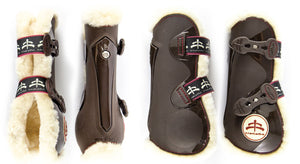 Makebe Temple Sheepskin Tendon Boots - PREORDER