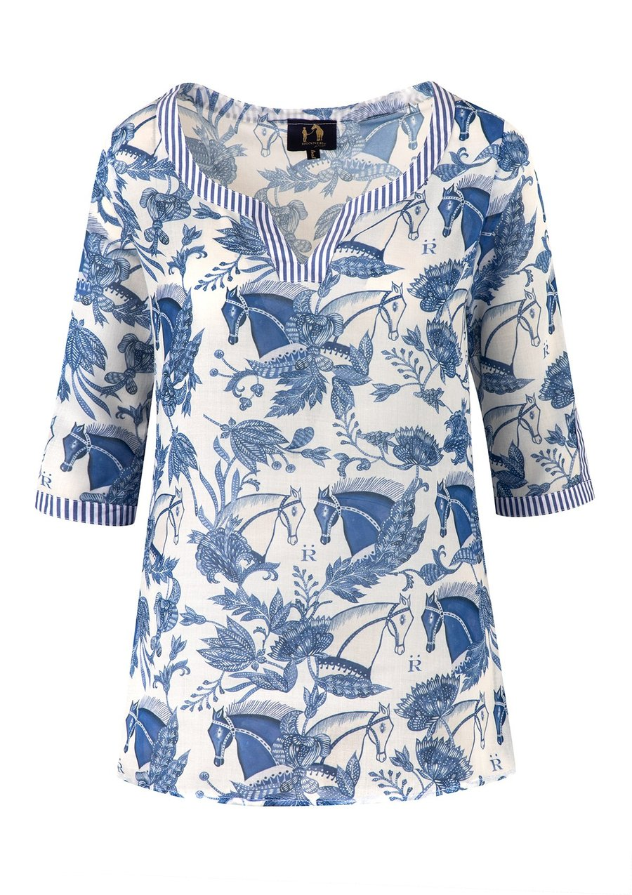 Ronner Lightweight Caftan Shirt | Aquarius