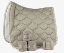 PS of Sweden Ruffle Collection | Creme de la Creme | Dressage Saddle pad and polos SET
