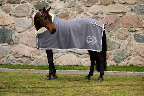 PS of Sweden Luxury Fleece Rug - Charcoal