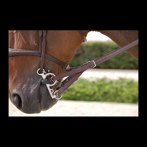 Dy'on English Leather Converter Reins Rubber 5/8