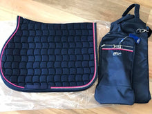 IN STOCK Anna Scarpati Custom QUESTO Pad Full Jump And Bonnet Navy/Pink