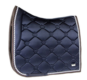 PS of Sweden Monogram Dressage Pad Deep Sapphire Dressage or Jump