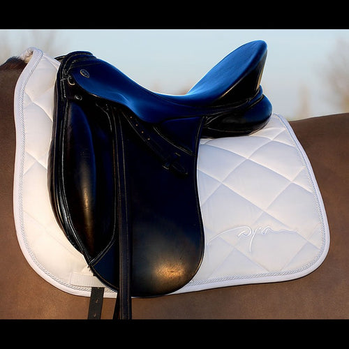Dy'on Dressage Saddle Pad White
