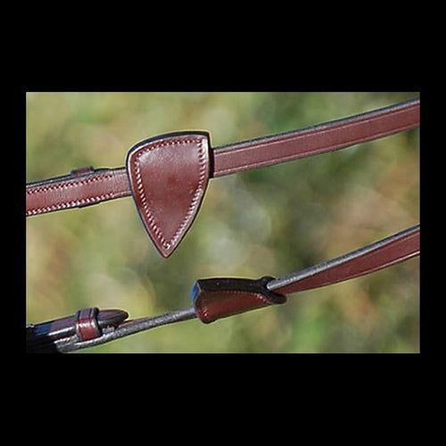 Dy'on English Leather Hunter Soft Reins 5/8