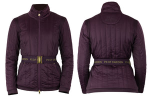 PS of Sweden Georgie Jacket WINE or DEEP SAPPHIRE