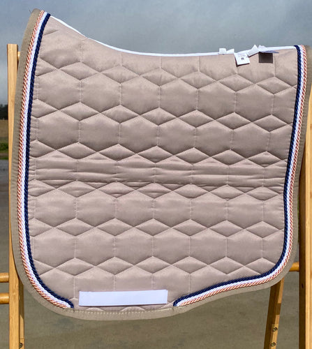 Mattes Eurofit Dressage Pad Walnut Sheen