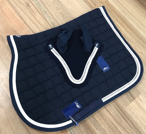 Anna Scarpati Custom Questo Full Jump Pad Navy/white
