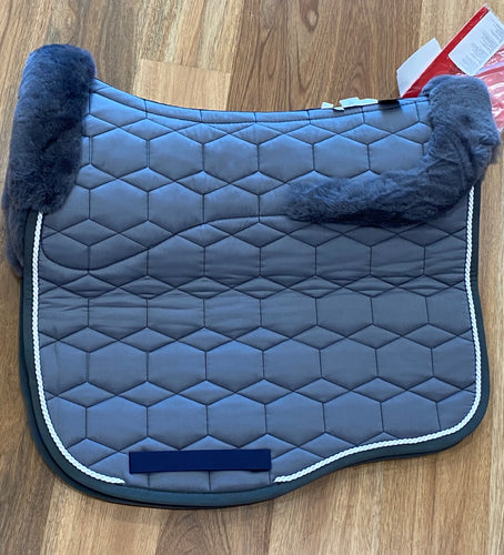 Mattes Eurofit Dressage Pad Large Grey Full Fleece