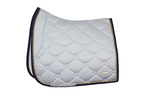 PS of Sweden Monogram White Saddle Pad Lap of Honour - Dressage or Jump PREORDER