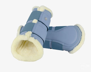 PS of Sweden SS21 Brushing Boots | Light Blue | Set of 4