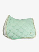 PS of Sweden Limited Summer Monogram Saddle Pad | Mint Green | Dressage or Jump