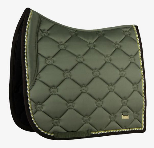 PS of Sweden FW20 Monogram Saddle Pad | Moss | Dressage or Jump
