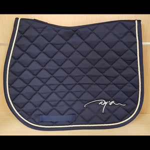 Dy'on Navy Blue Saddle Pad Full AP/Jump