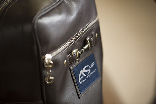 Anna Scarpati OTIS Ecoleather Boot Carry Bag - CUSTOM ORDER