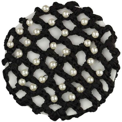 Hamag Pearl Encrusted Crochet Hair/Bun Net