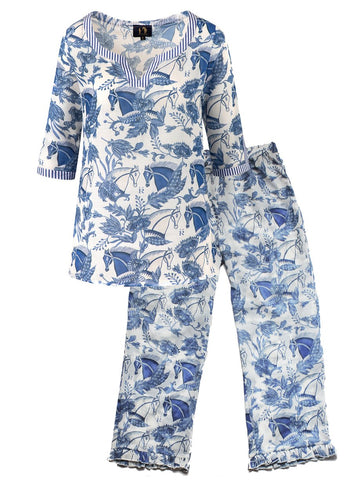Ronner Pyjama | Aquarius Shirt and Pants Set | Preorder