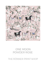 Ronner Pyjama Set | Horse Haven Shorts and Peplum Top | Preorder