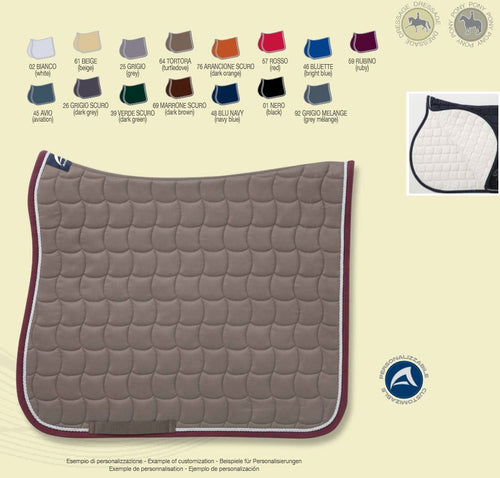 Anna Scarpati Custom QUALY Dressage Saddle Pad - CUSTOM ORDER