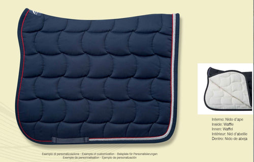 Anna Scarpati Custom QUARZO Dressage Saddle Pad - CUSTOM ORDER