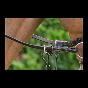 Dy'on Working Collection Web Reins with Leather Loops 5/8""