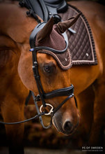 PS of Sweden Ruffle Collection | Brownie Dressage Saddle Pad, Bonnet, Polo Bandages SET