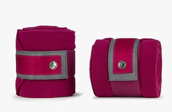 PS of Sweden FW20 Monogram Polo Bandages | Scarlet