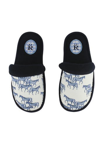Ronner Allegria Slippers | Mini Horse Navy or Pink