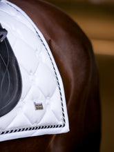 PS of Sweden Monogram Saddle Pad - White