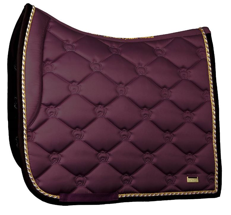 PS of Sweden FW 19 Monogram Saddle Pad WINE