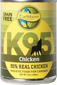 Earthborn K95 Chicken Recipe