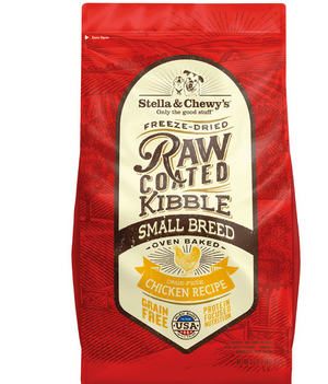 Stella & Chewy's Raw Coated Small Breed Chicken Recipe