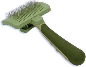 Coastal Safari Self-Cleaning Slicker Brush