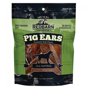 Red Barn Pig Ears 10 Pack