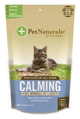 Pet Naturals Calming for Cats 30 ct.