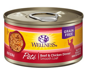 Wellness Adult Cat Beef & Chicken Formula