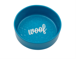Ore Bowl Ceramic Etched Woof Bowl
