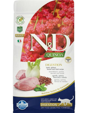 Farmina Cat N&D Quinoa Digestive Lamb 3.3 Lb.