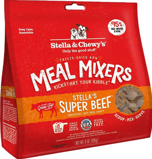 Stella & Chewy's Freeze-Dried Meal Mixers Stella's Super Beef