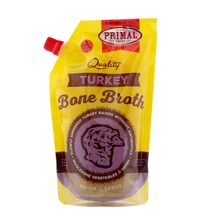 Primal Bone Broth Turkey 20 oz.