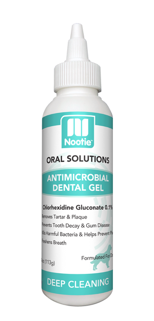 Nooties Antimicrobial Dental Gel 4 oz.
